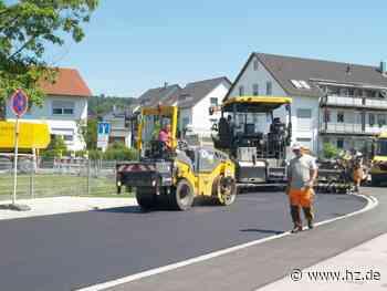 Ende der Tiefbauarbeiten: Ab Freitag, 18. Juni, wieder freie Fahrt in Steinheim - Heidenheimer Zeitung