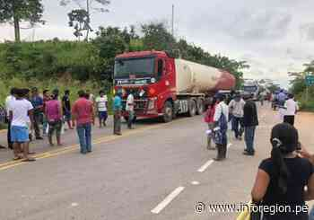 Huánuco: Campamento petrolero Cepsa sigue tomado por pobladores de Macuya - INFOREGION