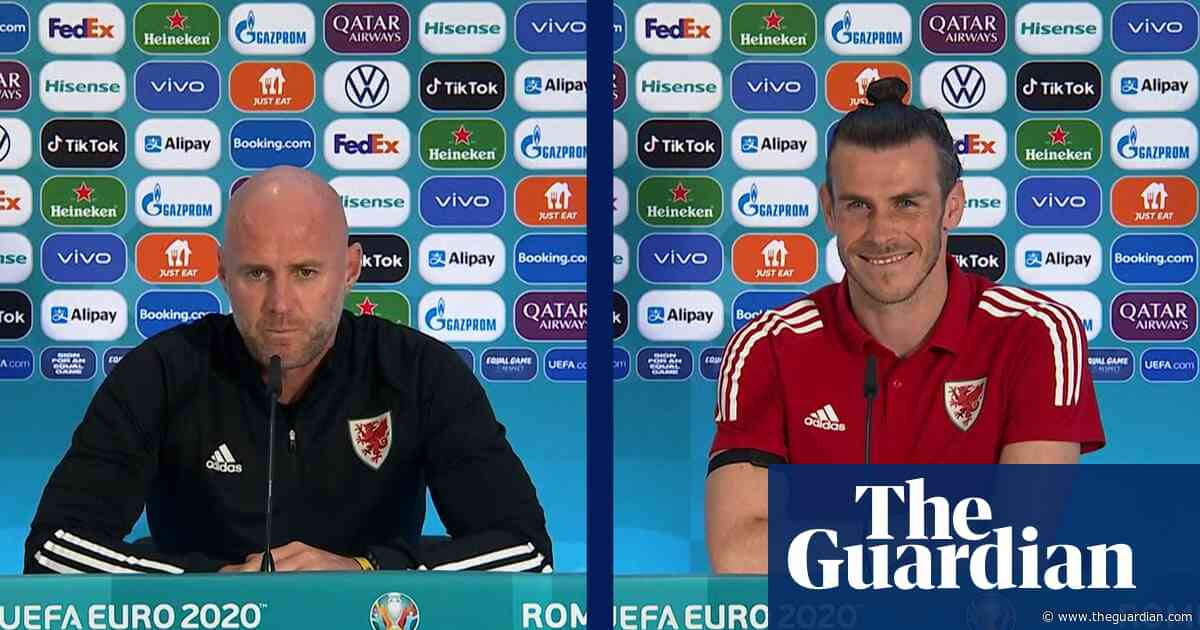 'We want to qualify in style': Rob Page and Gareth Bale look ahead to Italy match – video