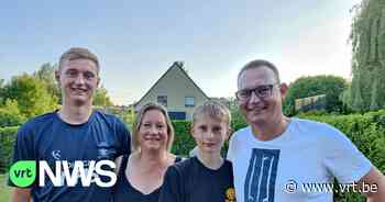 Deense familie uit Hoeilaart supportert voor Rode Duivels, alleen mama Christina gaat voor Denemarken - VRT NWS