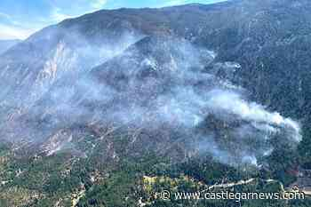 BC drone sighting halts helicopters fighting 250 hectares of wildfire – Castlegar News - Castlegar News