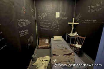 Creston students create art installation of residential school room – Castlegar News - Castlegar News