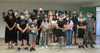 Bastia : L'inchjostru di a memoria, la belle expo des élèves du collège Giraud - Corse Net Infos