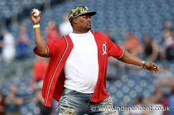 Capitol Police officer Eugene Goodman throws first pitch at DC baseball game
