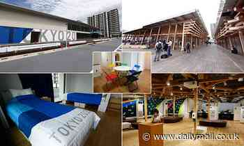 Inside the Tokyo Olympic village: Apartments for 12,000 athletes and a £16m shopping complex