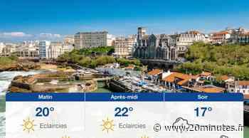Météo Biarritz: Prévisions du dimanche 20 juin 2021 - 20minutes.fr