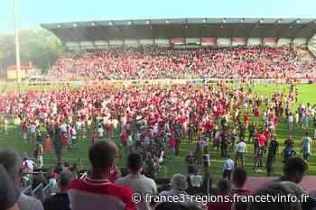 Rugby : le Biarritz Olympique accède au Top 14 au terme d'un match dantesque - France 3 Régions