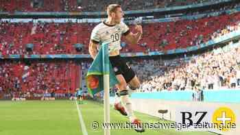 Fußball-Profi Robin Gosens, der neue Liebling der Nation