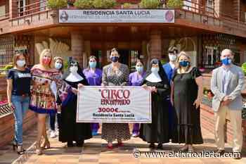 CANTABRIA.-La residencia Santa Lucía de Santander recibe 3.000 e uros de las dos funciones solidarias del Circo Encantado - Alerta