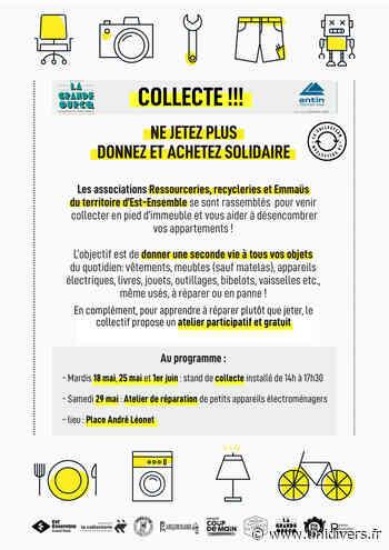 Collectes Anti-Gaspi romainville – Place André Leonnet - Unidivers