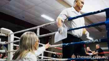 Boxing trailblazer Catherine Iaria lands a blow as Geraldton's first female judge - The West Australian