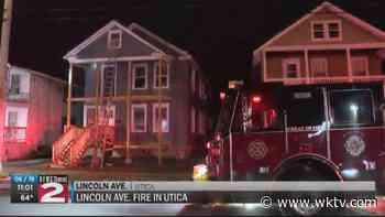 7 displaced by house fire in Utica - WKTV