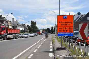 Twee weken verkeershinder richting Halle