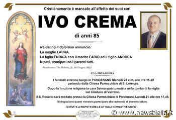 Ivo Crema - newsbiella.it