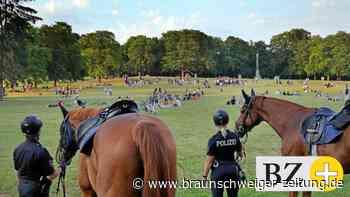 Verstärkte Polizeipräsenz in Braunschweigs Prinzenpark
