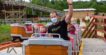 Theme park U-turn after backlash over face masks for children as young as three