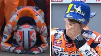 'Today's the day': Emotional Marc Marquez banishes 18 months of struggles in sweetest win yet