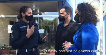 Segurança Guarda Civil de Atibaia recebe autoridades de Francisco Morato Na visita foi apresentado todo o - Redação do Portal Atibaia News
