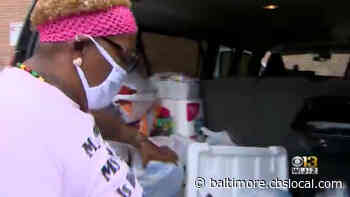 Community MVP: Christina Flowers Is On A Mission To Meet The Needs Of Baltimore's Homeless - CBS Baltimore
