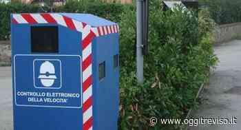 Autovelox di ultima generazione a Crocetta del Montello - Oggi Treviso