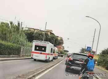 """""""Ambulanze ferme al passaggio a livello chiuso"""" - Qui News Pisa"""