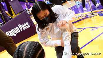 Report: After injury-filled season, Lakers do not bring back head athletic trainer