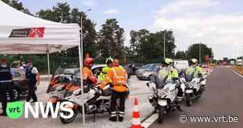 """Weekend zonder alcohol achter het stuur: """"In Maasmechelen controleert zowel de Belgische als de Nederlandse politie"""" - VRT NWS"""