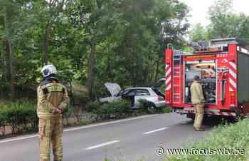 Voertuigbrand in Koksijde - Focus en WTV