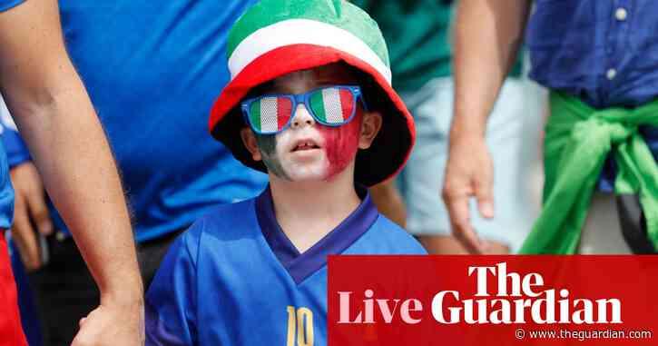 Euro 2020: Italy v Wales, Switzerland v Turkey buildup – live!