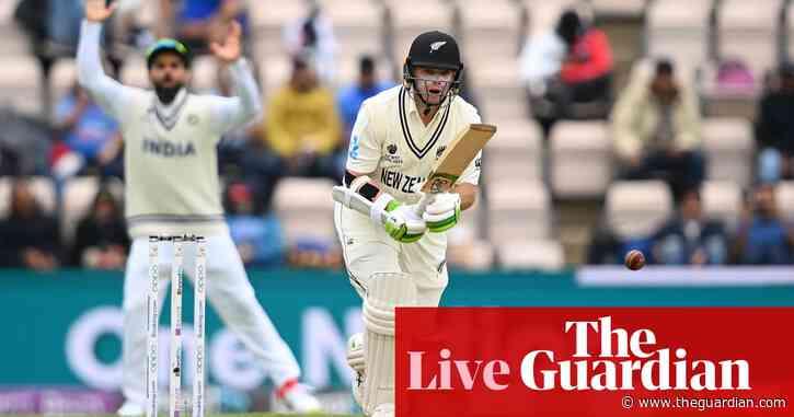 India v New Zealand: World Test Championship final, day three – live!