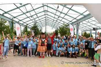 Reuzenloop verkent met 750 lopers ook wijken Eilandje en Dam en stuk van Deurne