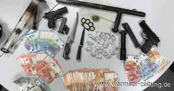 Drogen, Waffen und Bargeld in Worms sichergestellt - Wormser Zeitung