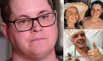 An emotional Johnny Ruffo bravely speaks about his brain cancer battle
