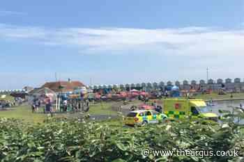 Paramedics called to incident at Hove Lagoon