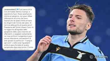 Immobile carga contra presidente del Torino: 'Me acusó de jugar con los ojos ensangrentados' - AS