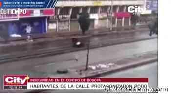 Ciclista sufrió grave accidente por evitar que lo atracaran - El Tiempo