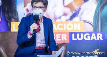 Claudia López pidió al Concejo de Bogotá que apruebe el Plan de Rescate Social - Revista Semana