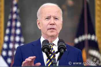 Biden says delta Covid variant is 'particularly dangerous' for young people - CNBC