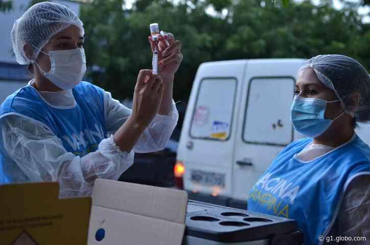 Campina Grande amplia vacinação contra Covid-19 para pessoas sem comorbidades a partir de 54 anos no domingo (20) - G1