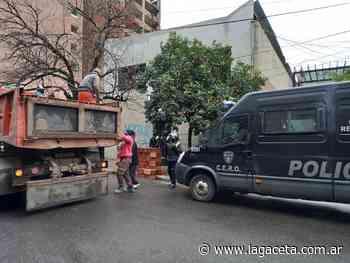 Cortaron el tránsito en Marcos Paz al 600 por un operativo en un inmueble de la familia Chahla - Actualidad | La Gaceta - LA GACETA