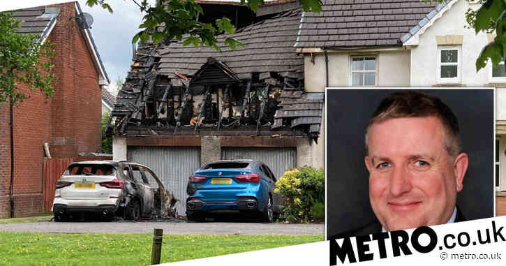 Tory councillor's house and cars set on fire for the third time