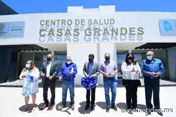Inaugura Corral Centro de Salud en Casas Grandes - Netnoticias