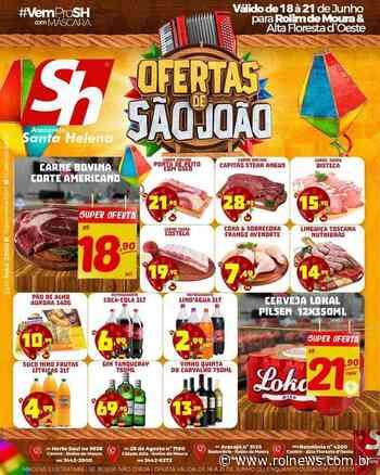 Ofertas de São João Atacarejo Santa Helena Rolim de Moura - ROLNEWS