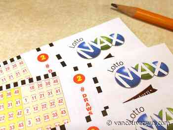 Check your Lotto 6-49 tickets: Someone in B.C. won half of Saturday's $6 million jackpot