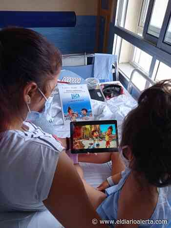 ANDALUCÍA.-Cádiz.- El Hospital Punta de Europa de Algeciras acoge el estreno de la nueva película de Disney Pixar, Luca - Alerta