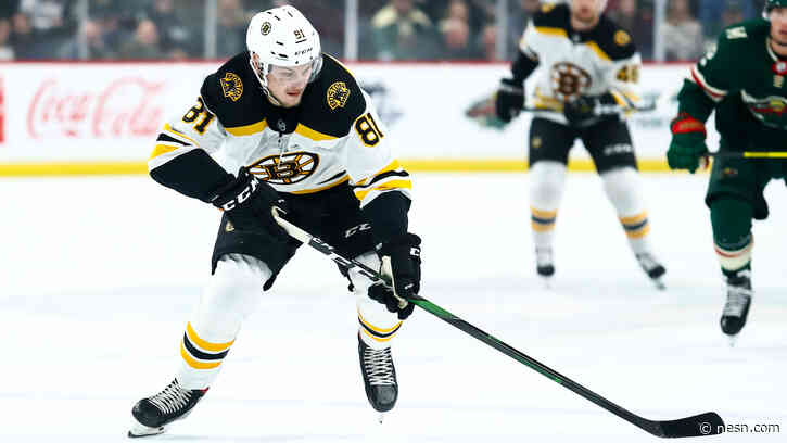 Bruins Sign Anton Blidh To One-Year, Two-Way Contract
