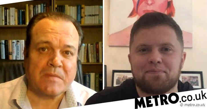 Shaun Williamson and 'secret son' Gary Robinson reunite to celebrate Father's Day and their 'remarkable' reunion