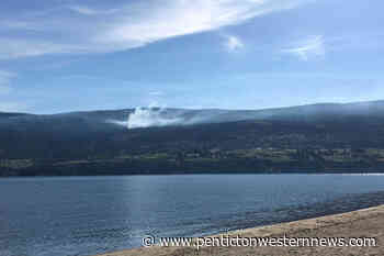 Illegal open burn in Naramata will be left to smoke – Penticton Western News - Penticton Western News