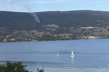 UPDATE: Fire above Naramata is an illegal open burn - Penticton Western News