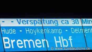 Zugausfälle zwischen Bremen und Verden an der Aller - Süddeutsche Zeitung